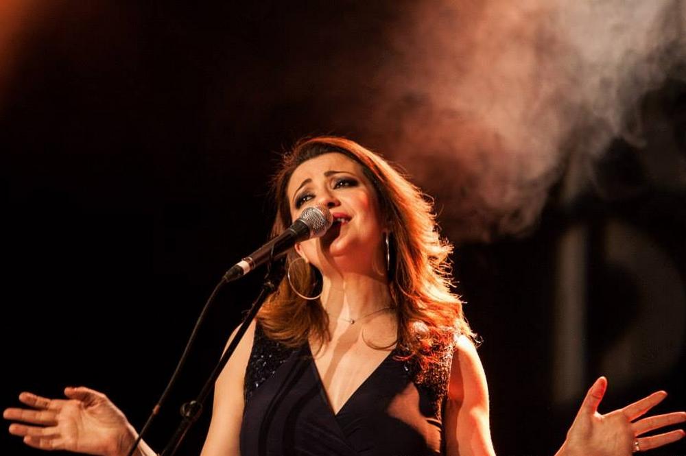 Dorsaf Hamdani au Festival Au fil des voix. Crédit : Yassine Meddeb Hamrouni