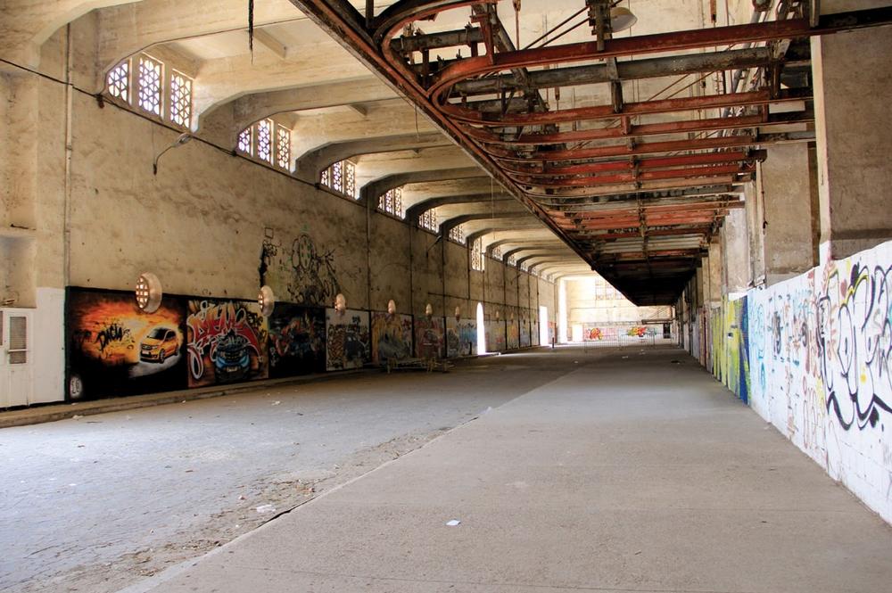 La Fabrique culturelle des anciens abattoirs de Casablanca. Crédit : Abdessamad Azil / Brownbook