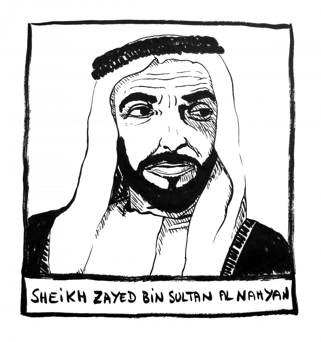 Sheikh Zayed bin Sultan Al Nahyan, founder of UAE