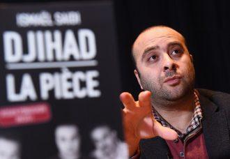 Piece de Théatre Djihad. Crédits Emmanuel Dunand / AFP