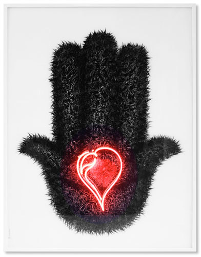 Coeur sur la main, 2010 © Nacer Bennacer