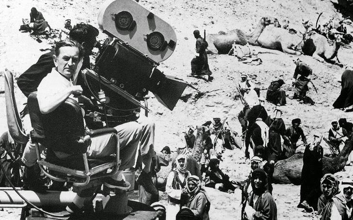 Photo de tournage de Lawrence d'Arabie de David Lean, 1962