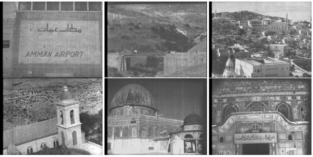 Photogrammes du film Combat à Jérash