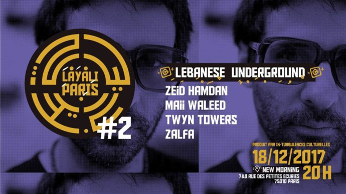 Zeid Hamdan - Layali Paris