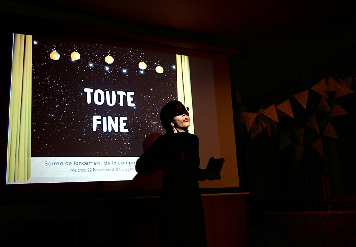 """Tout fine une poète algérienne - extrait de la série """"femme musulmane et féministe"""", (work in progress)"""